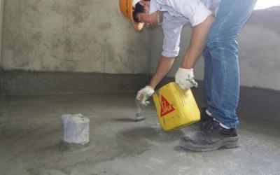 Cách chống thấm tầng hầm bằng vật liệu sika