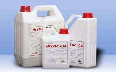 Chống thấm tường ngoài với sản phẩm chống thấm ngược INTOC-04
